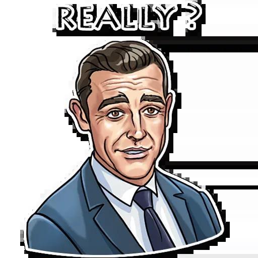 James Bond - Sticker 26