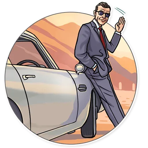 James Bond - Sticker 4