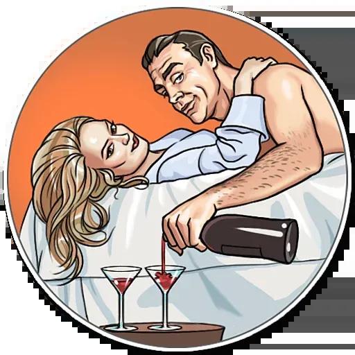 James Bond - Sticker 8