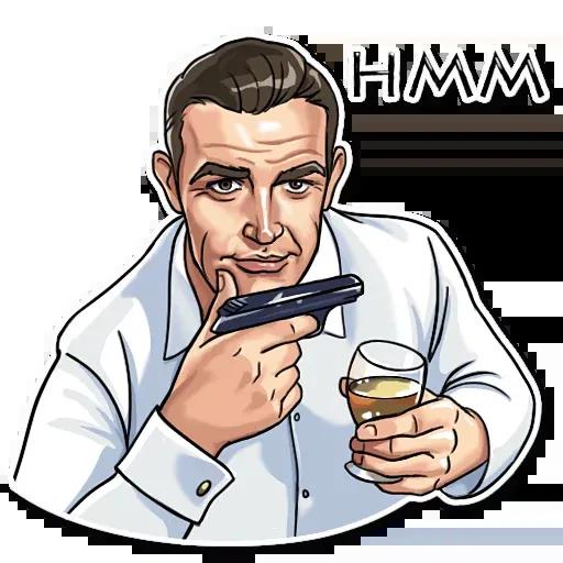 James Bond - Sticker 11