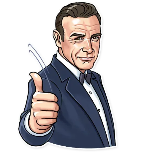 James Bond - Sticker 3