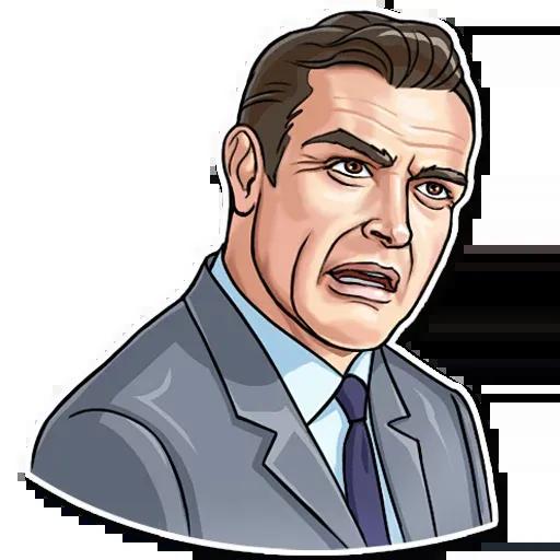 James Bond - Sticker 30