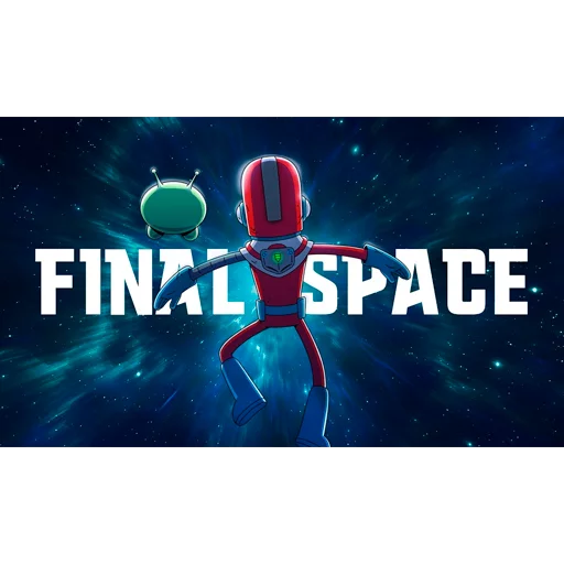 Final space - Tray Sticker