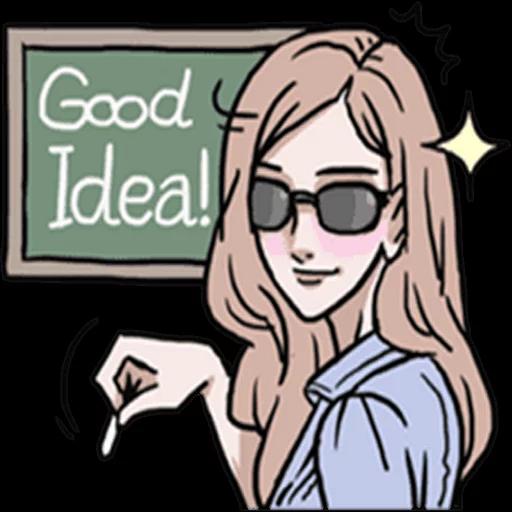 AsB Be positive girls! - Sticker 14