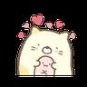 動く♪すみっコぐらし - Tray Sticker