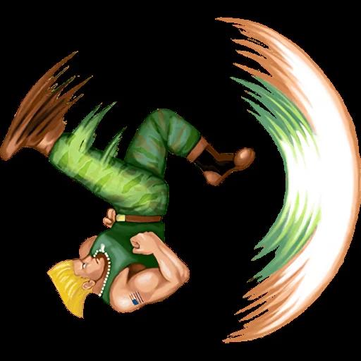 Street Fighter II - Sticker 5