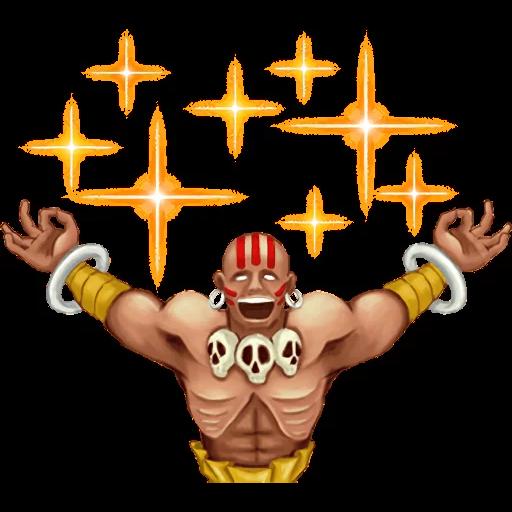 Street Fighter II - Sticker 30