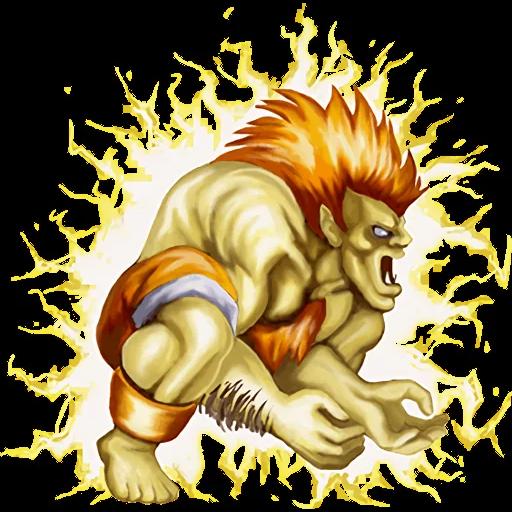 Street Fighter II - Sticker 6