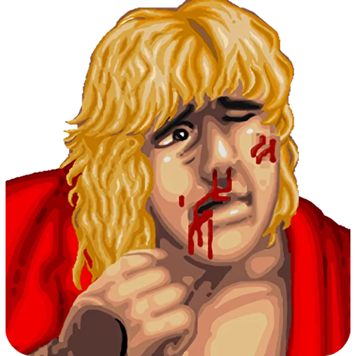 Street Fighter II - Tray Sticker
