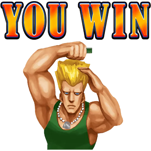 Street Fighter II - Sticker 28