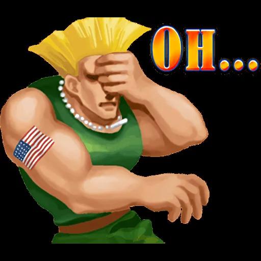 Street Fighter II - Sticker 11