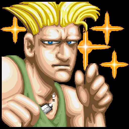 Street Fighter II - Sticker 23