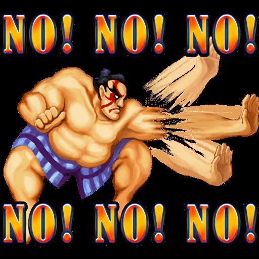 Street Fighter II - Sticker 15