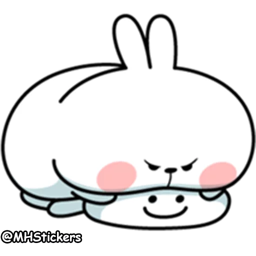 plump rabbit - Sticker 10