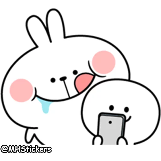 plump rabbit - Sticker 9