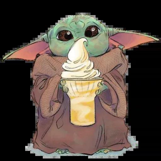 Baby Yoda by @ProjectEva - Sticker 15