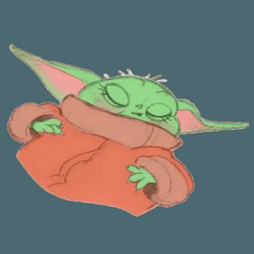 Baby Yoda by @ProjectEva - Sticker 9