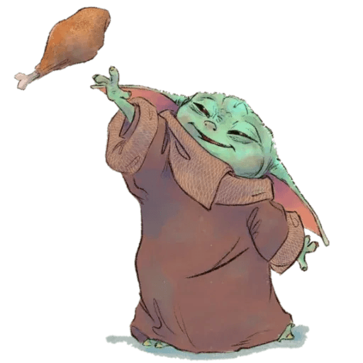 Baby Yoda by @ProjectEva - Sticker 14