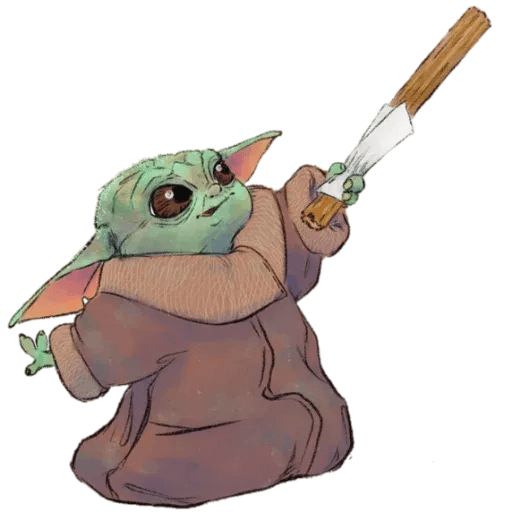 Baby Yoda by @ProjectEva - Sticker 18