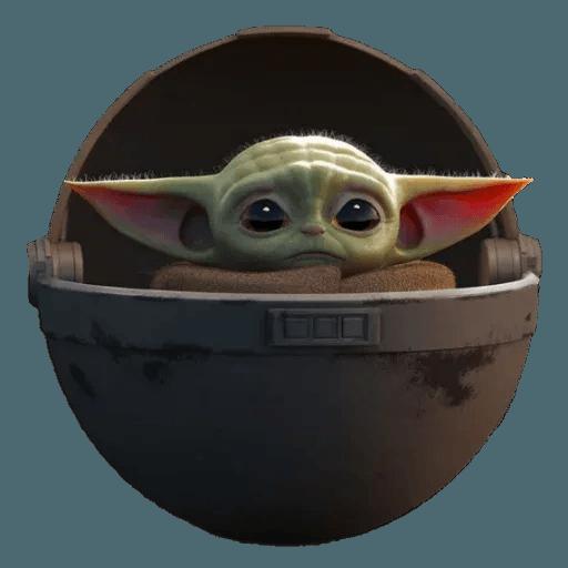 Baby Yoda by @ProjectEva - Sticker 23