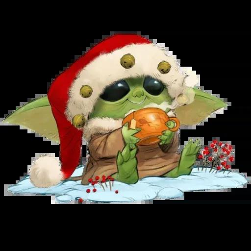 Baby Yoda by @ProjectEva - Sticker 21
