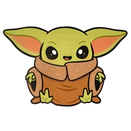 Baby Yoda by @ProjectEva - Sticker 20