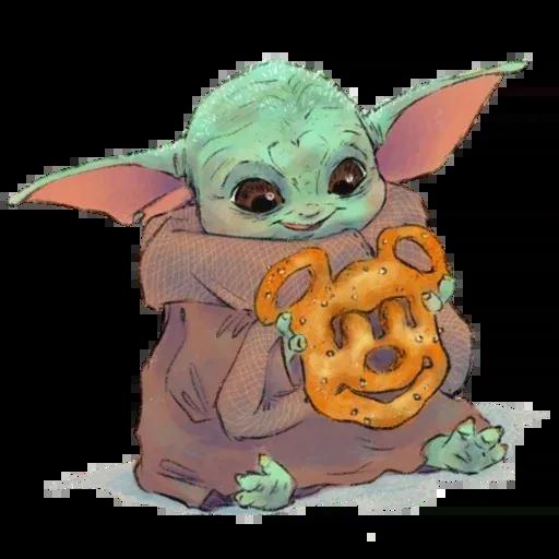 Baby Yoda by @ProjectEva - Sticker 13