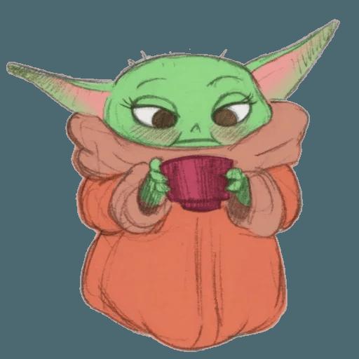 Baby Yoda by @ProjectEva - Sticker 5