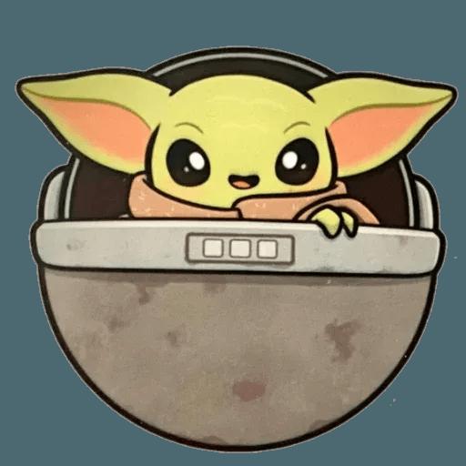 Baby Yoda by @ProjectEva - Sticker 19
