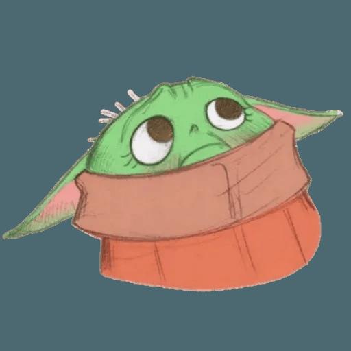 Baby Yoda by @ProjectEva - Sticker 8