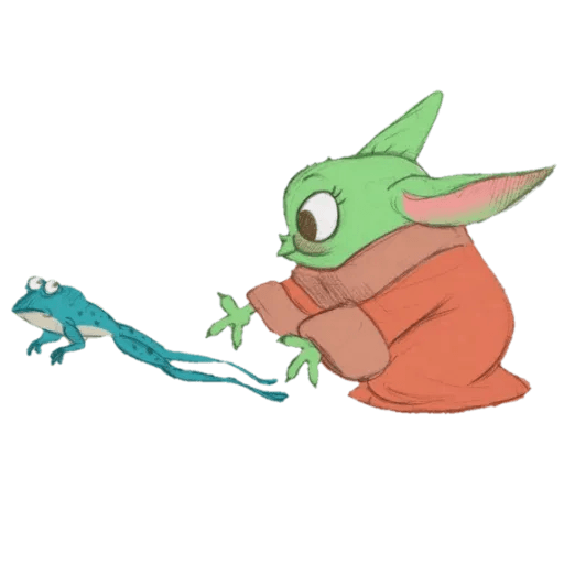 Baby Yoda by @ProjectEva - Sticker 10