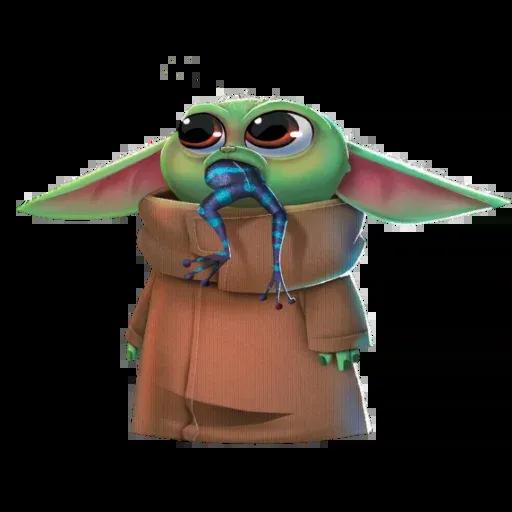 Baby Yoda by @ProjectEva - Sticker 25