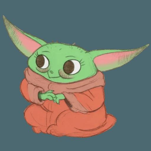 Baby Yoda by @ProjectEva - Sticker 1