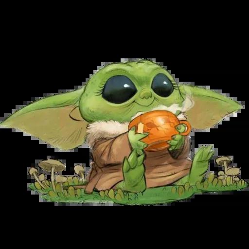 Baby Yoda by @ProjectEva - Sticker 22