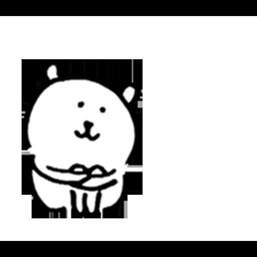 White bear - Sticker 10