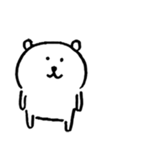 White bear - Sticker 28