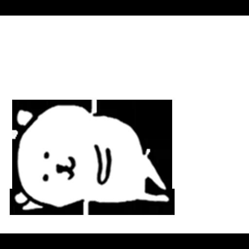 White bear - Sticker 12