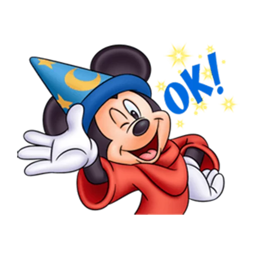 micky mouse - Sticker 16
