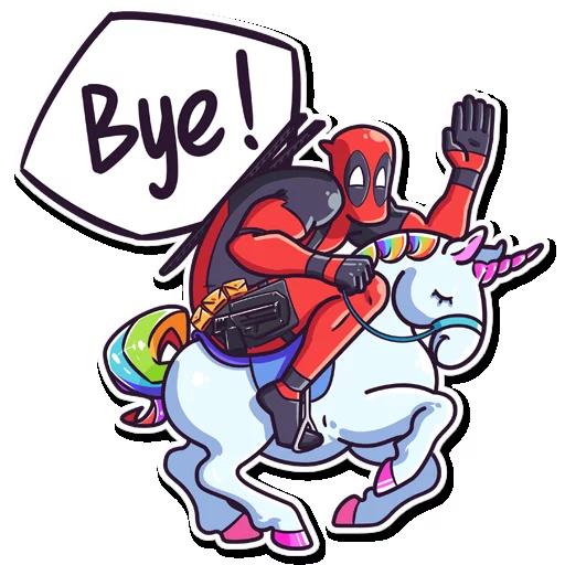 /Deadpool - Sticker 24