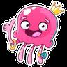 Octopus - Tray Sticker