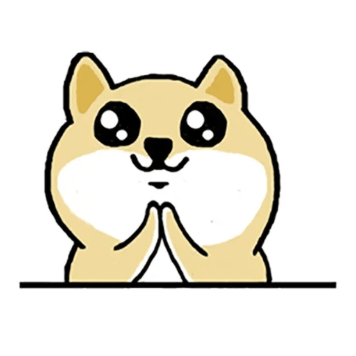 Fat Shiba 1 - Sticker 11