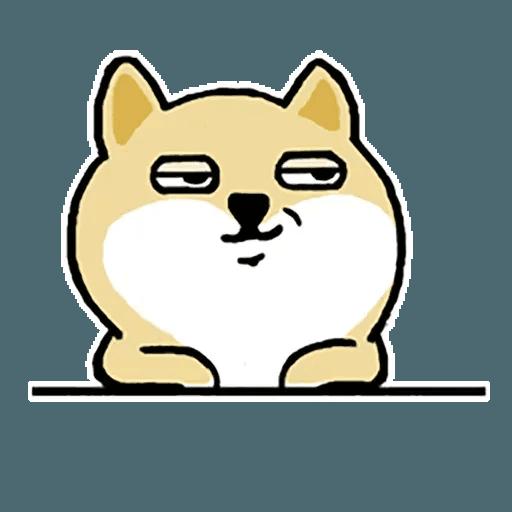 Fat Shiba 1 - Sticker 20