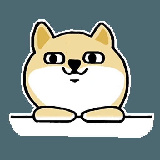 Fat Shiba 1 - Sticker 18