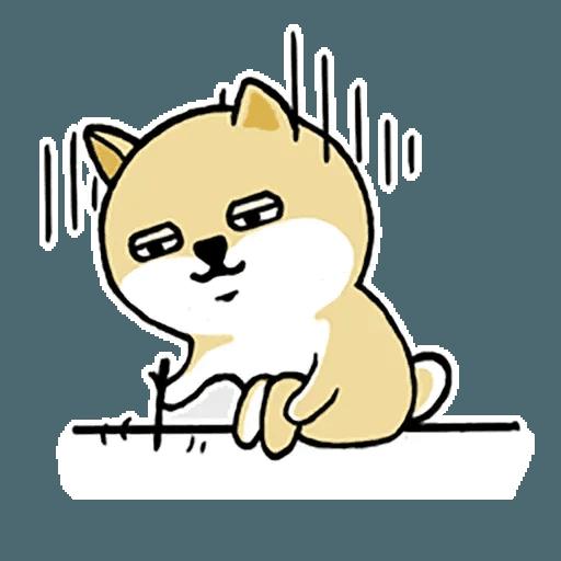 Fat Shiba 1 - Sticker 24