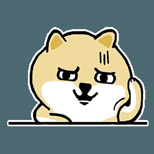 Fat Shiba 1 - Sticker 14