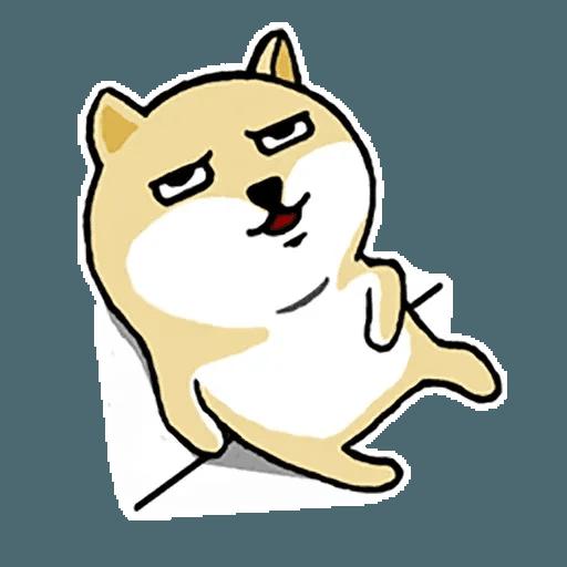 Fat Shiba 1 - Sticker 29