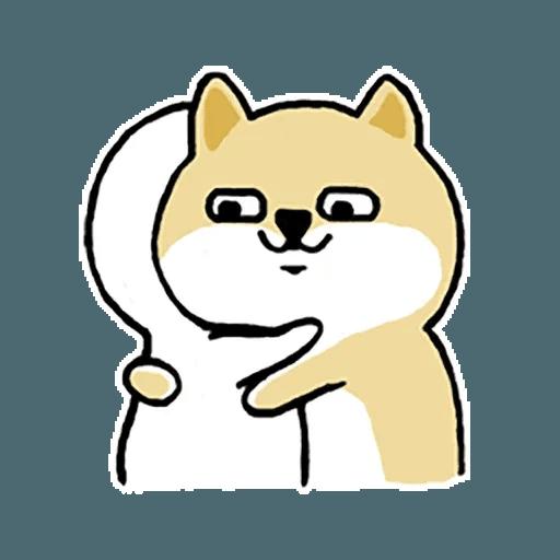 Fat Shiba 1 - Sticker 26