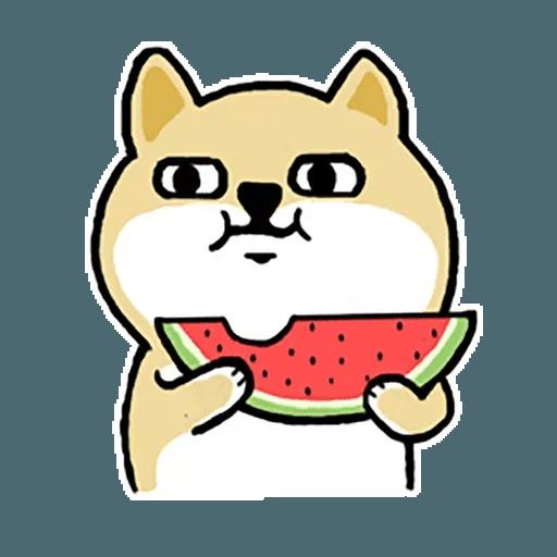 Fat Shiba 1 - Sticker 25