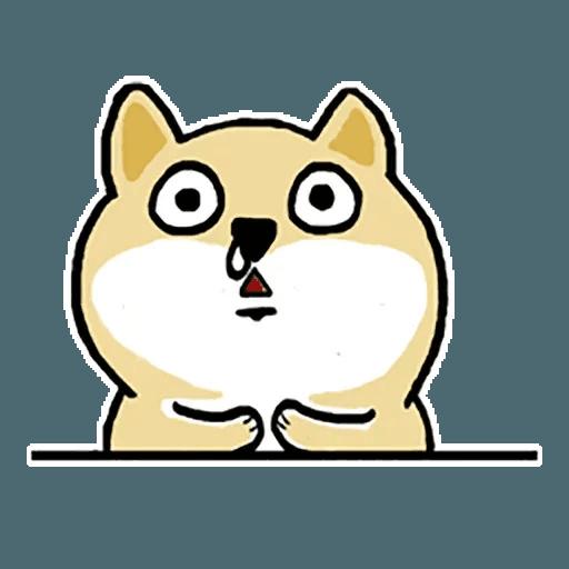 Fat Shiba 1 - Sticker 6
