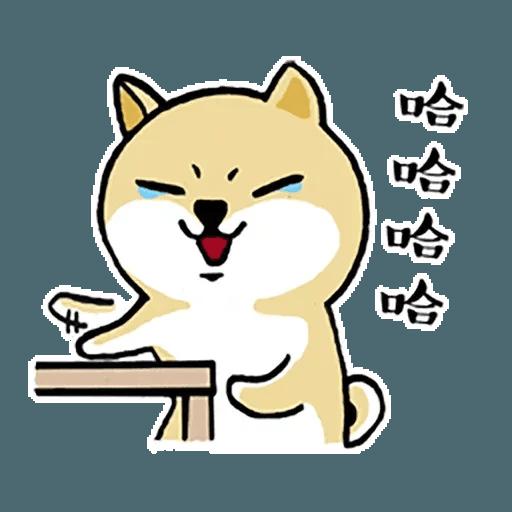 Fat Shiba 1 - Sticker 23